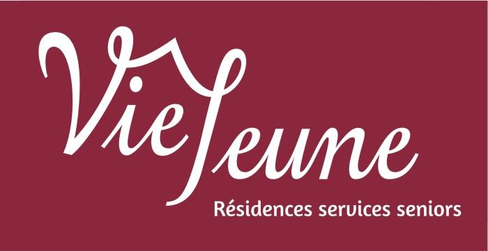 Logotype réalisé pour la société Vie Jeune proposant des résidences avec services aux seniors, 2013